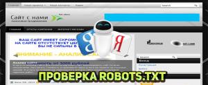 проверка robots.txt